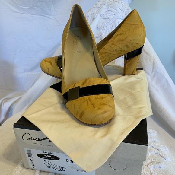 C'Vine Shoes - NIB C'Vine Brazilian Leather Pump Square Heel